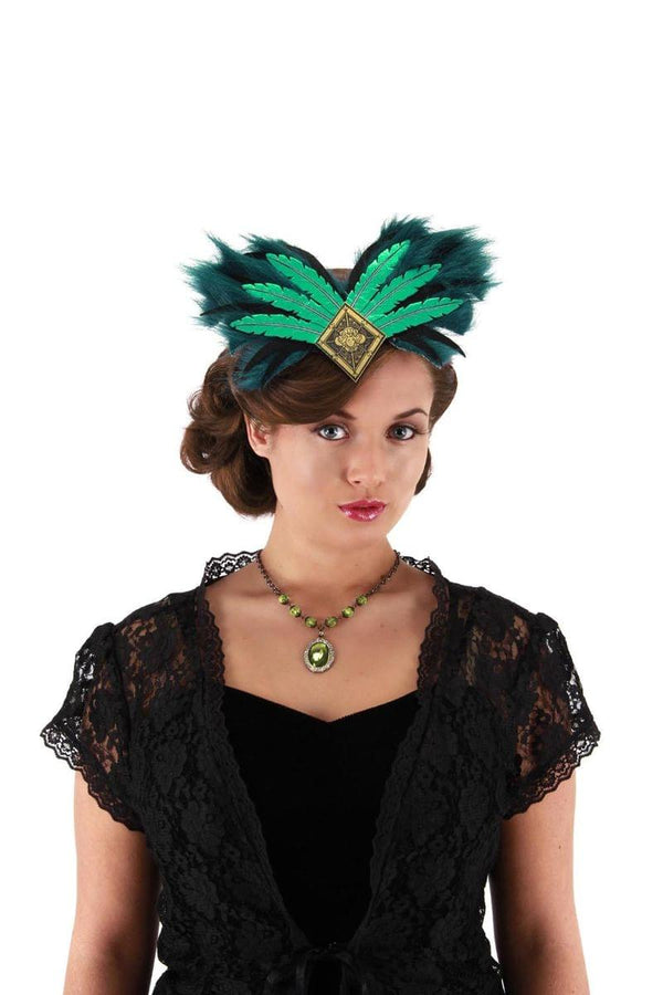 Oz The Great Deluxe Evanora Costume Headband Adult