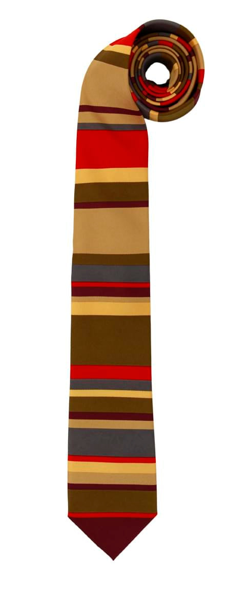 Doctor Who 4th Doctor Neck Tie Adult Costume Accessory