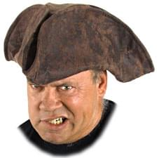 Old Pirate Brown Hat