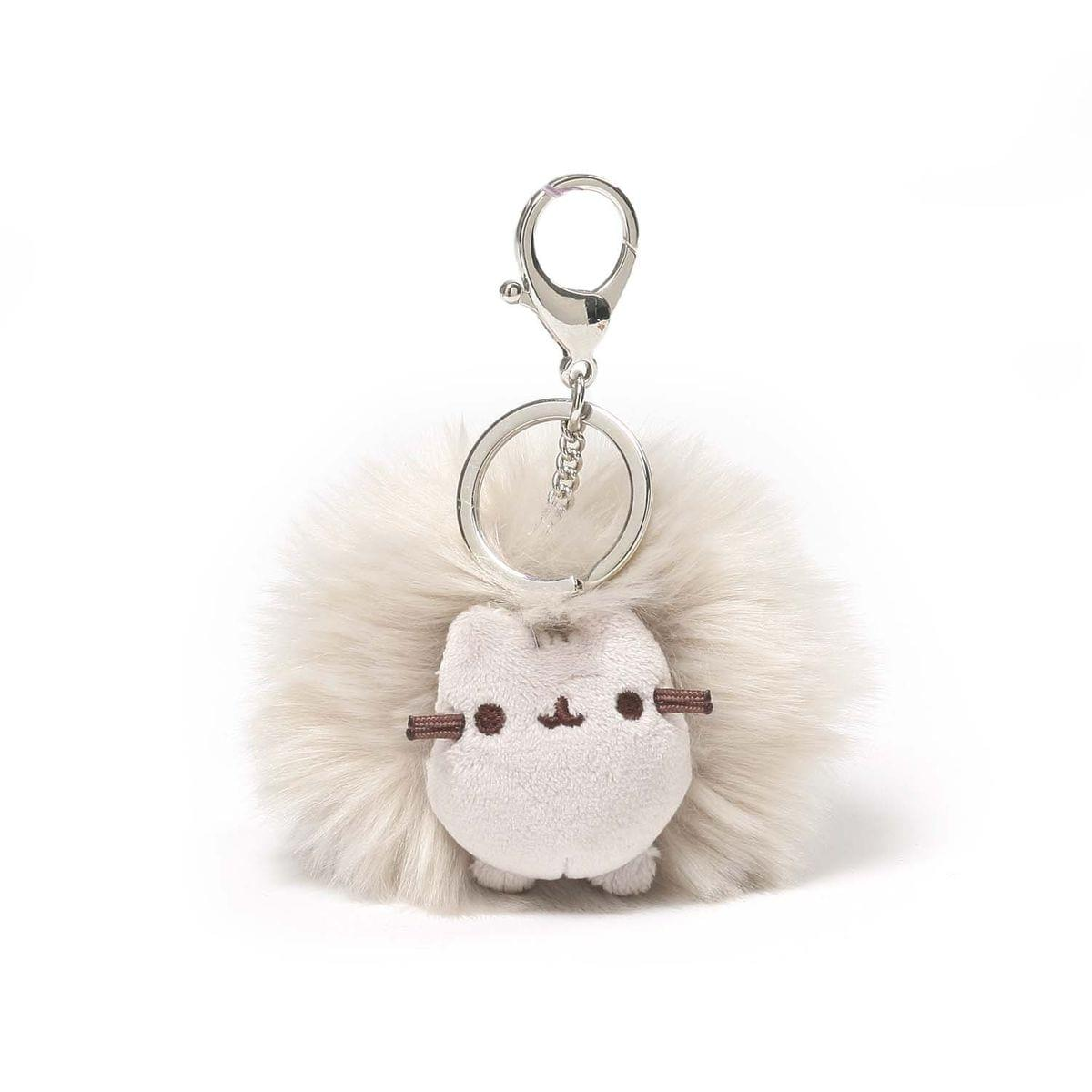 "Pusheen 4"" Poof Plush Backpack Clip"