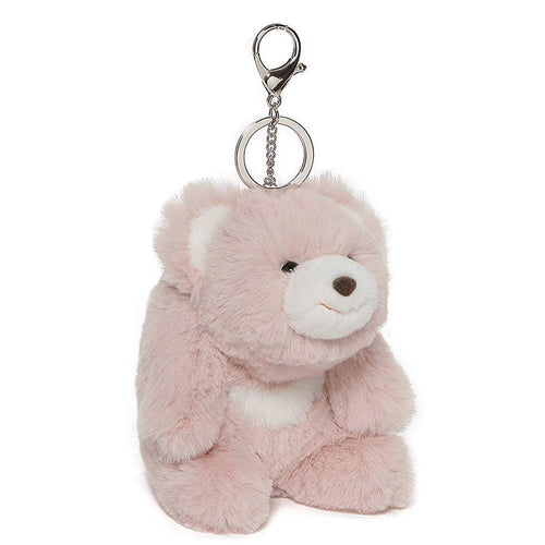 Snuffles the Teddy Bear 5-Inch Plush Keychain - Pink