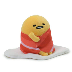 Gudetama the Lazy Egg w/ Bacon Blanket 4.5-Inch Plush