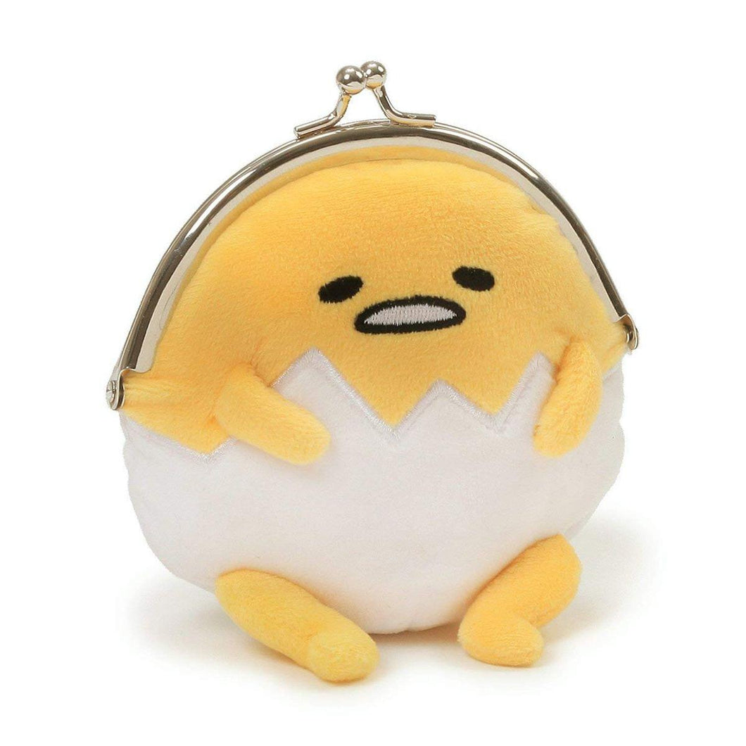 Gudetama the Lazy Egg 5-Inch Plush Coin Purse