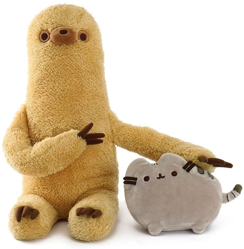 Pusheen with Sloth 13 Inch Stuffed Animal Plush Set