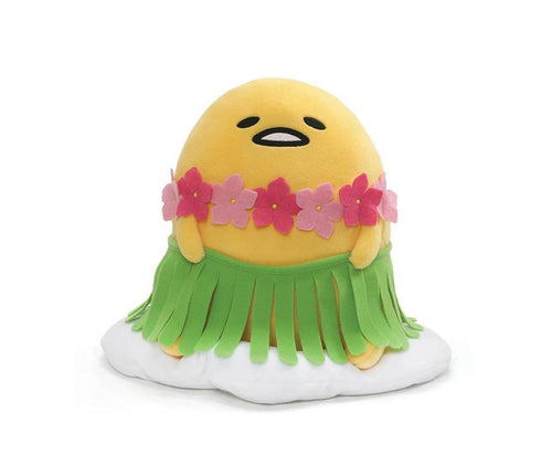 Gudetama the Lazy Egg in Hula Skirt 9 Inch Collectible Plush