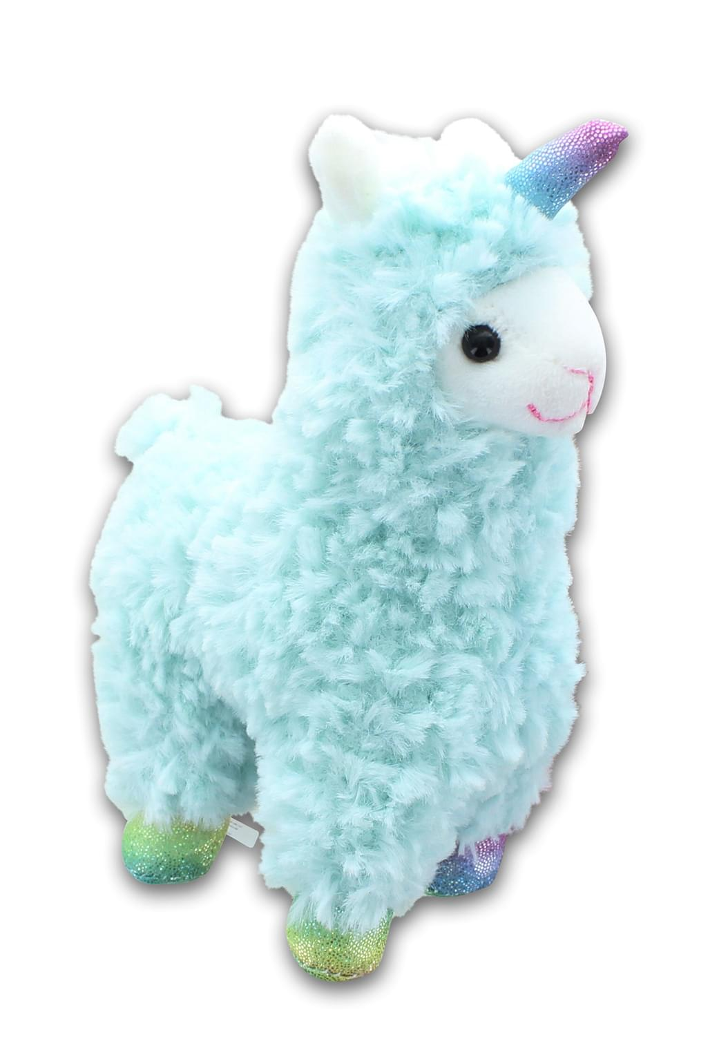 Llamacorn 6 Inch Collectible Plush w/ Sound | Blue