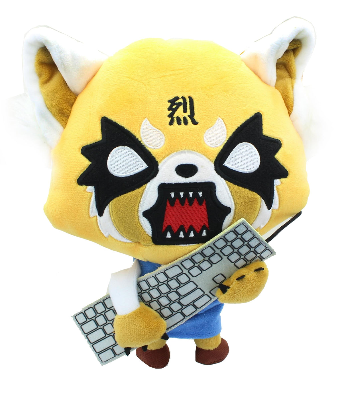Aggretsuko Rage Face 12 Inch Collectible Plush with Sound