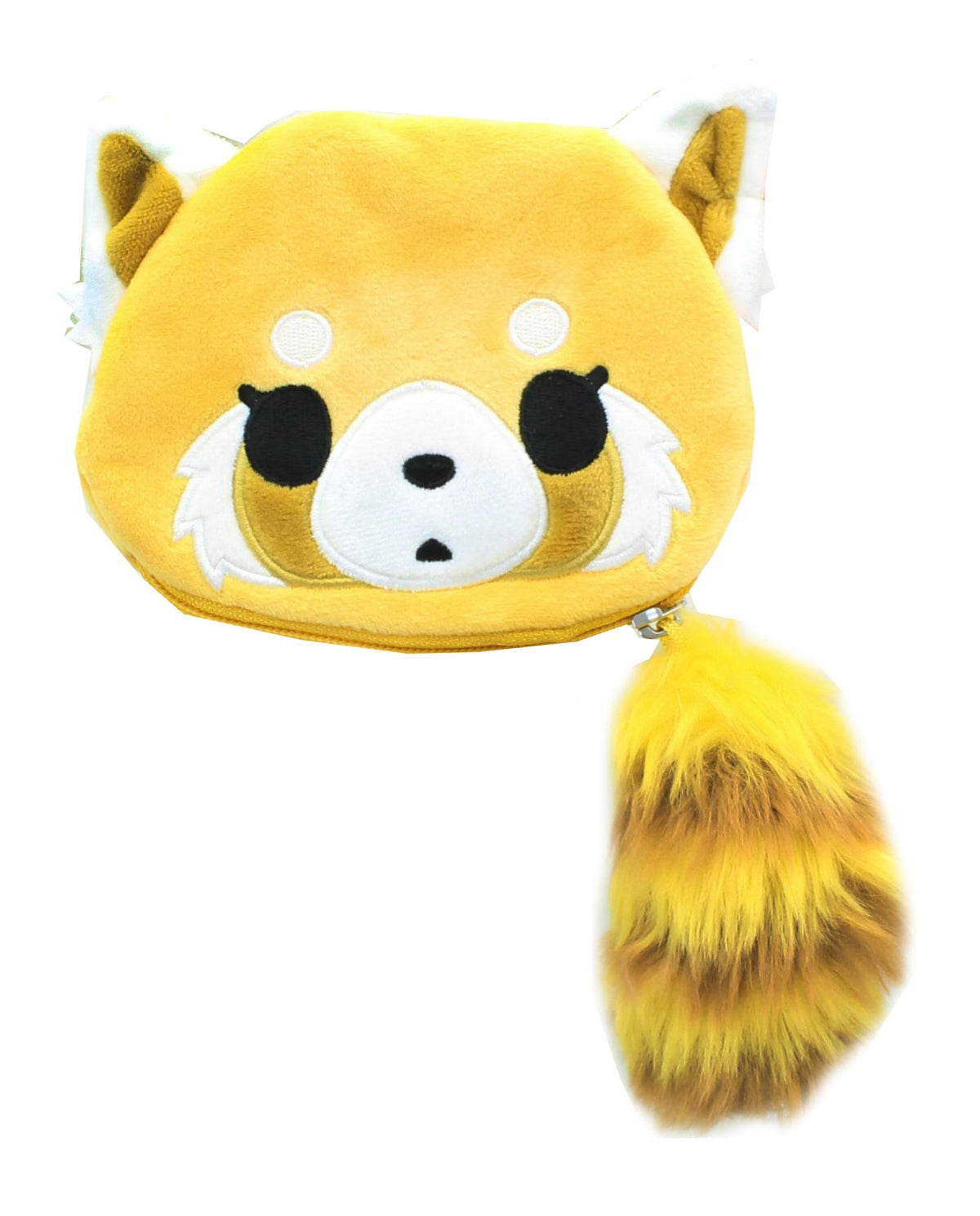 Aggretsuko Calm Face Plush Coin Purse