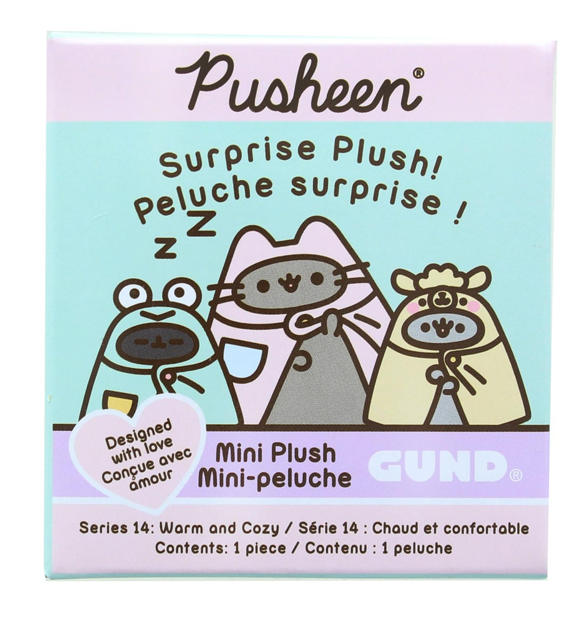 Pusheen Series 14 Warm & Cozy Mystery Plush | One Random