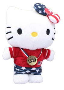 Hello Kitty Team USA Olympic Athlete 6 Inch Collectible Plush