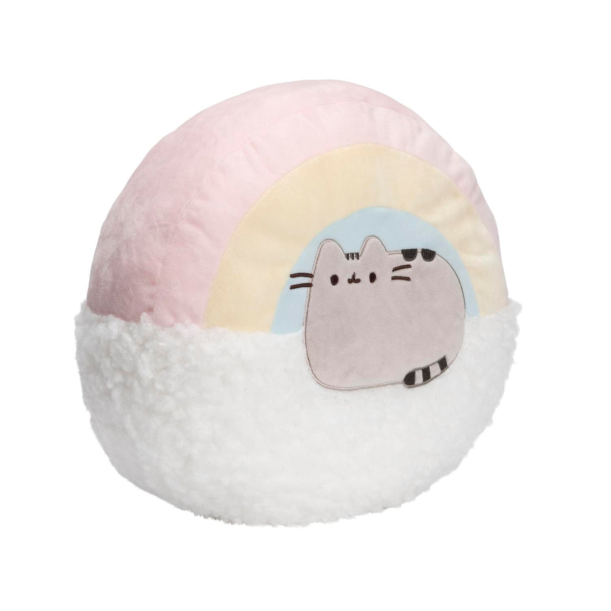 Pusheen with Rainbow 13 Inch Plush Pillow