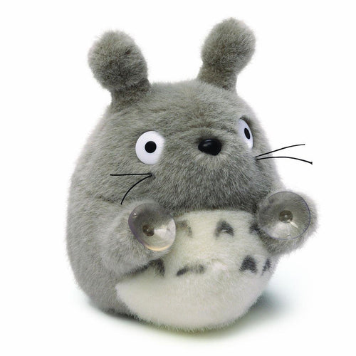 Totoro Plush With Suction Cups