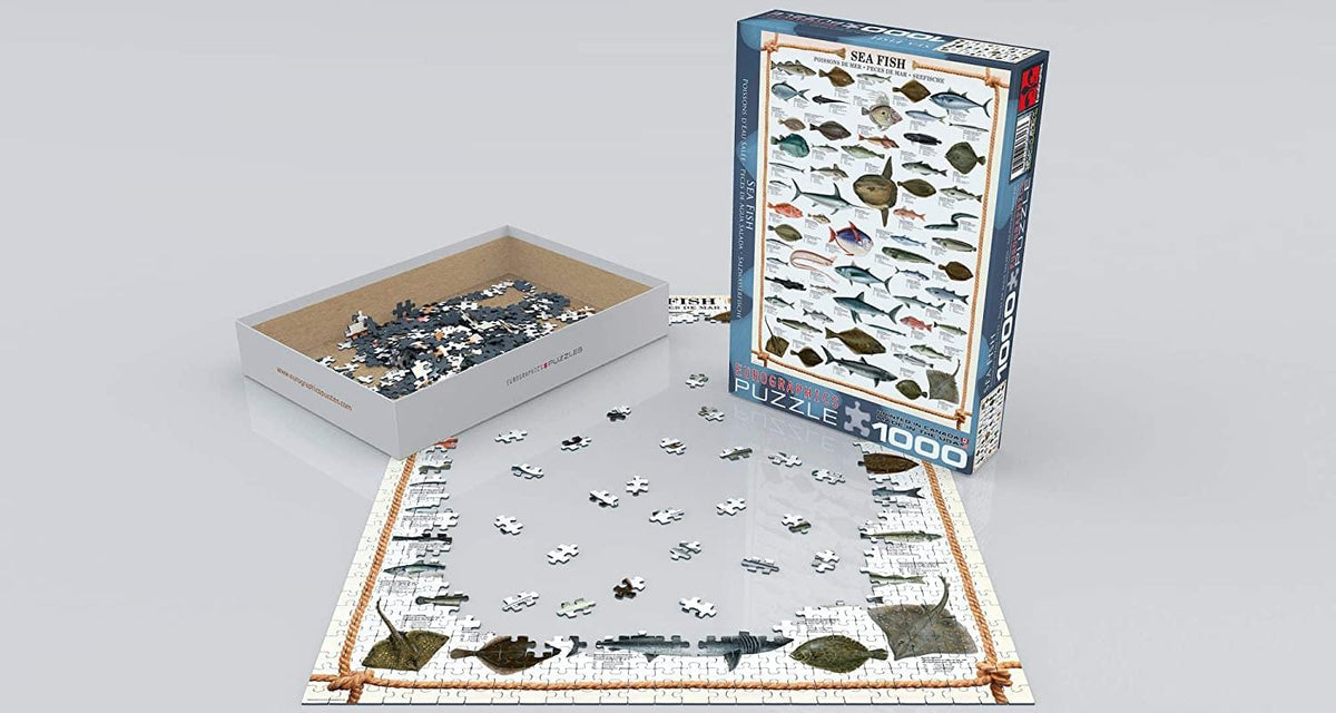 Sea Fish 1000 Piece Jigsaw Puzzle