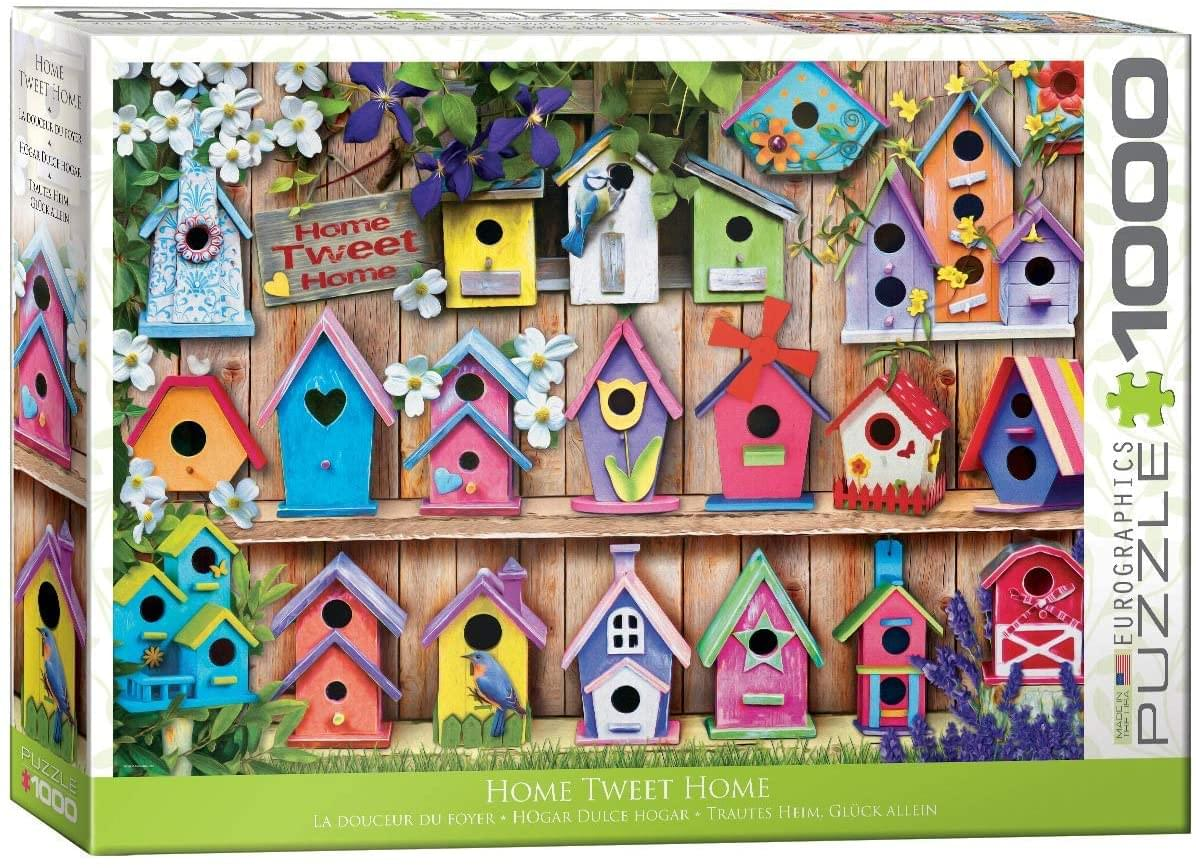 Home Tweet Home 1000 Piece Jigsaw Puzzle