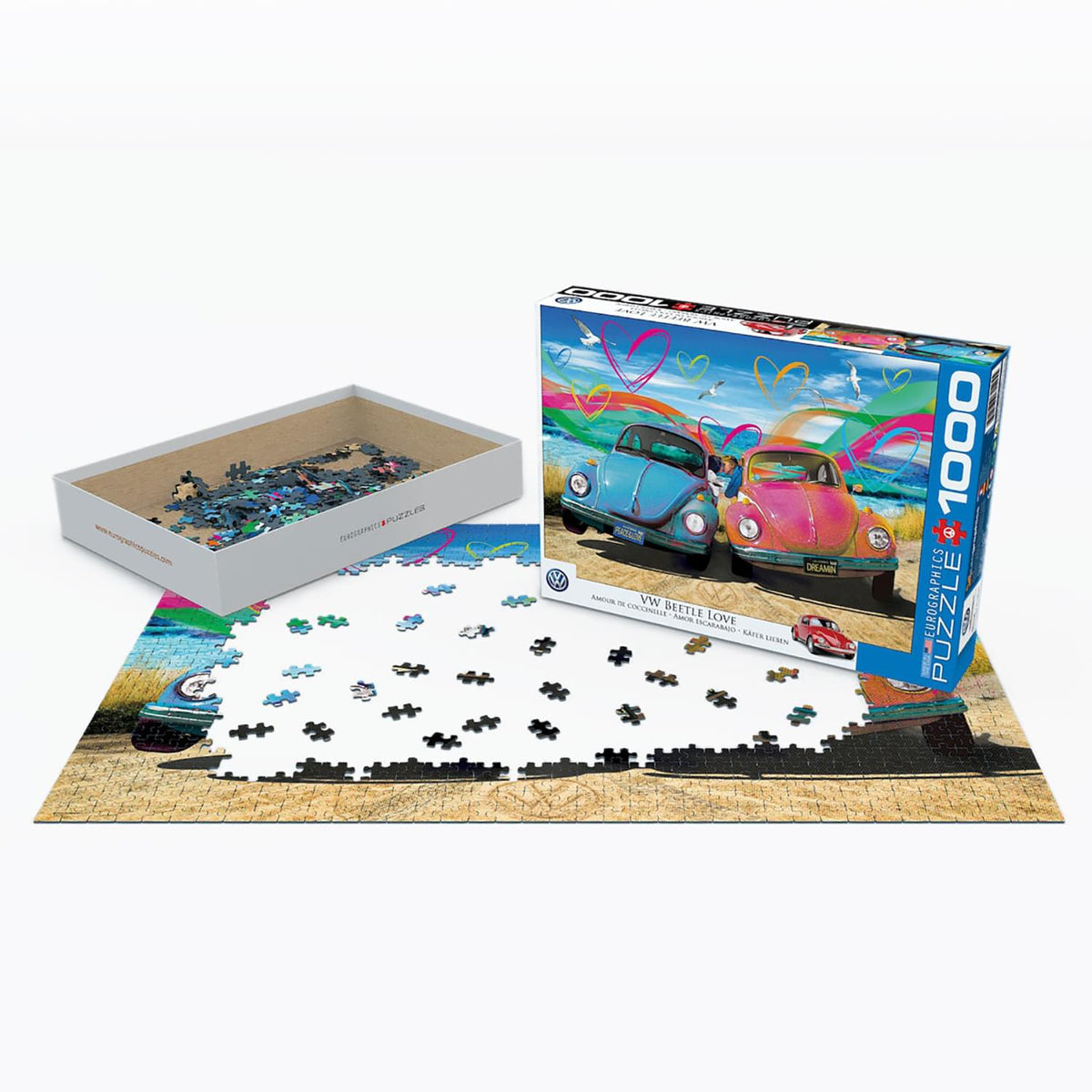VW Beetle Love 1000 Piece Jigsaw Puzzle