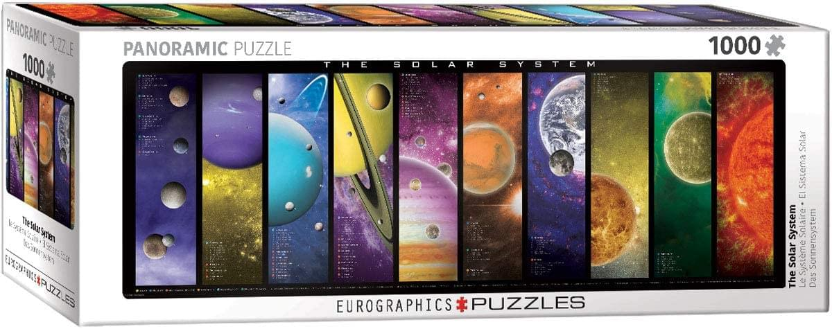 The Solar System 1000 Piece Jigsaw Puzzle