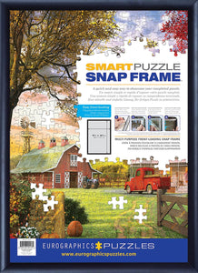 Assembled Black Aluminum SNAP Picture Frame | 25.5 x 37.5 Inches