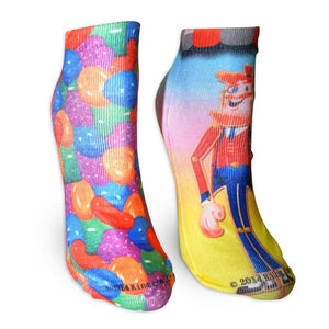 "Candy Crush ""Candy Toffee"" Ladies Socks 2-Pack"