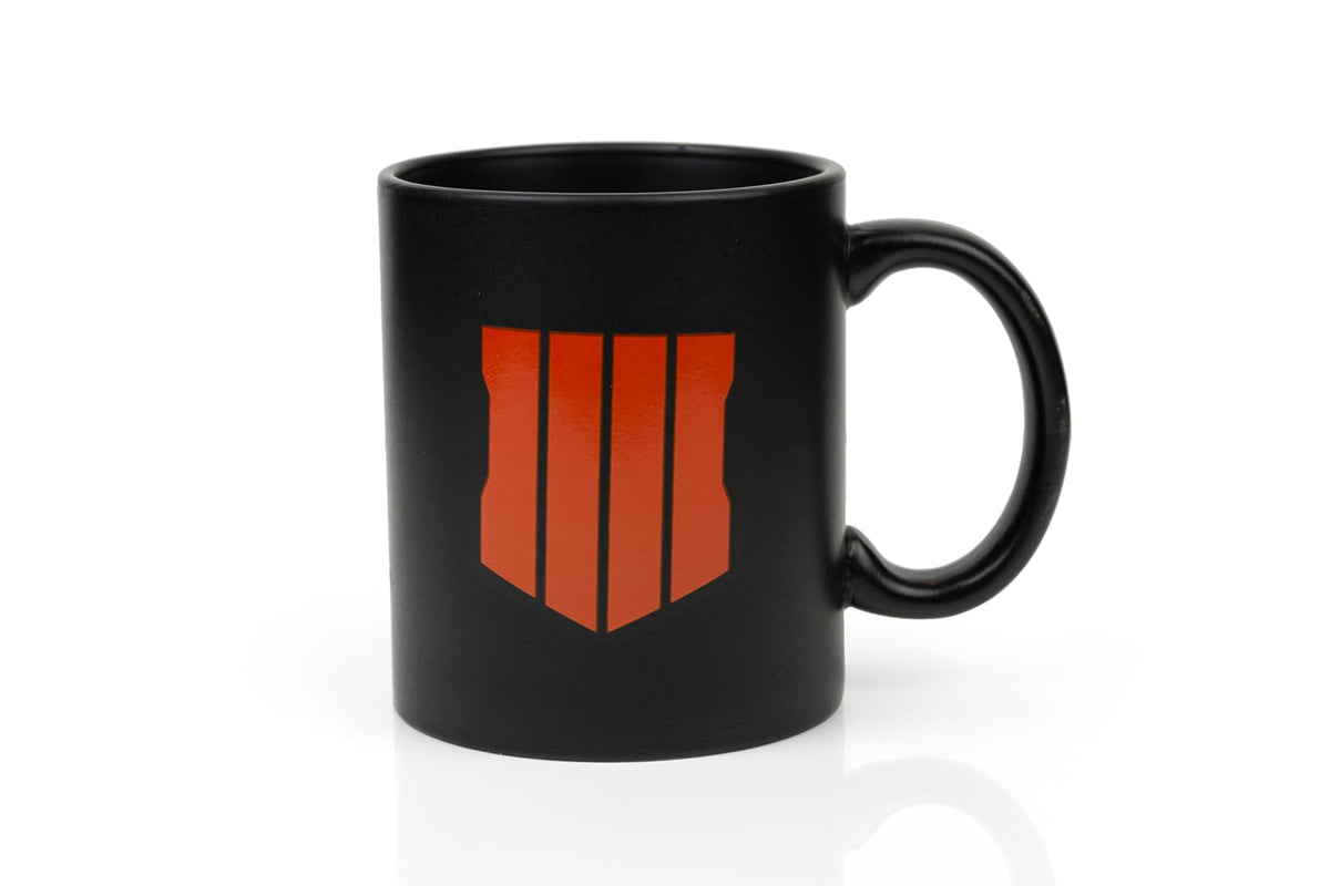 Call of Duty: Black Ops 4 Shield Icon Ceramic Coffee Mug | Holds 12 Ounces