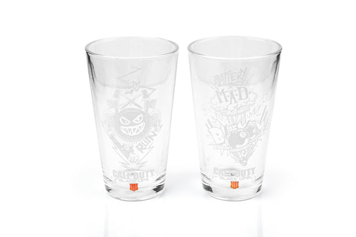 Call of Duty Black Ops 4 Specialists 17oz Drinking Glasses | Set of 2