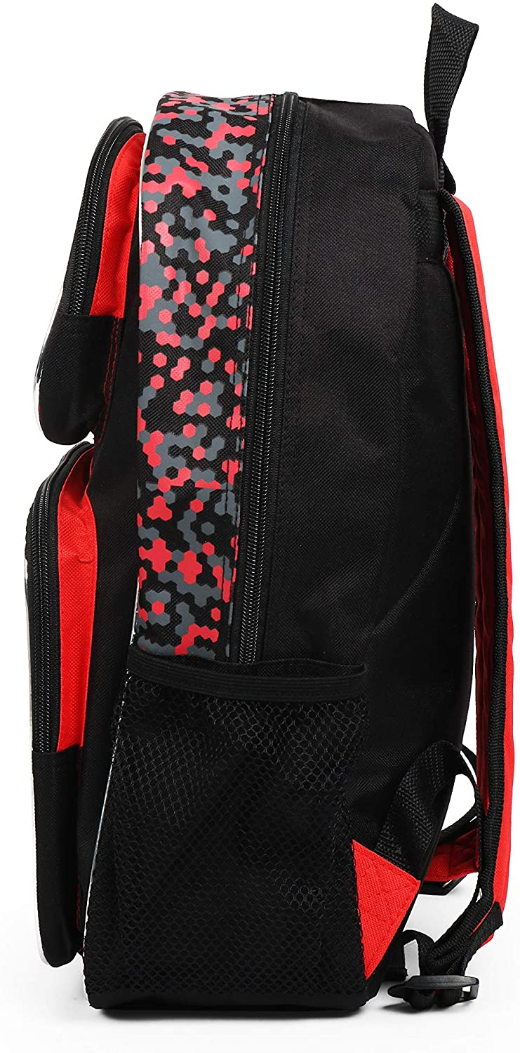 Pokemon Character Group Red 16 Inch Backpack