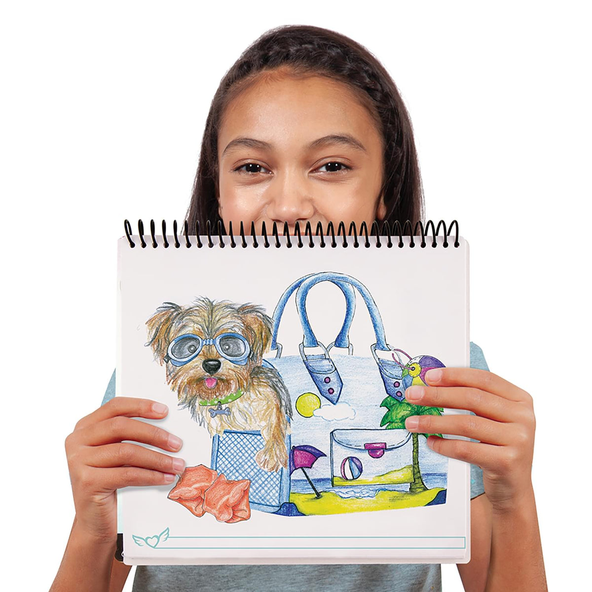 Fashion Angels Best Furry Friends Sketch Portfolio Set