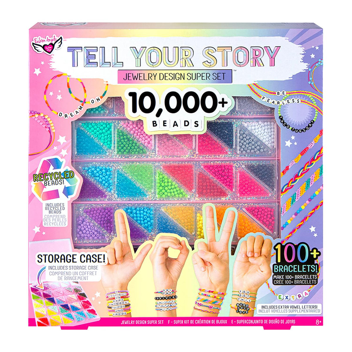 Fashion Angels Tell Your Story 10000+ Alphabet Bead Super Set