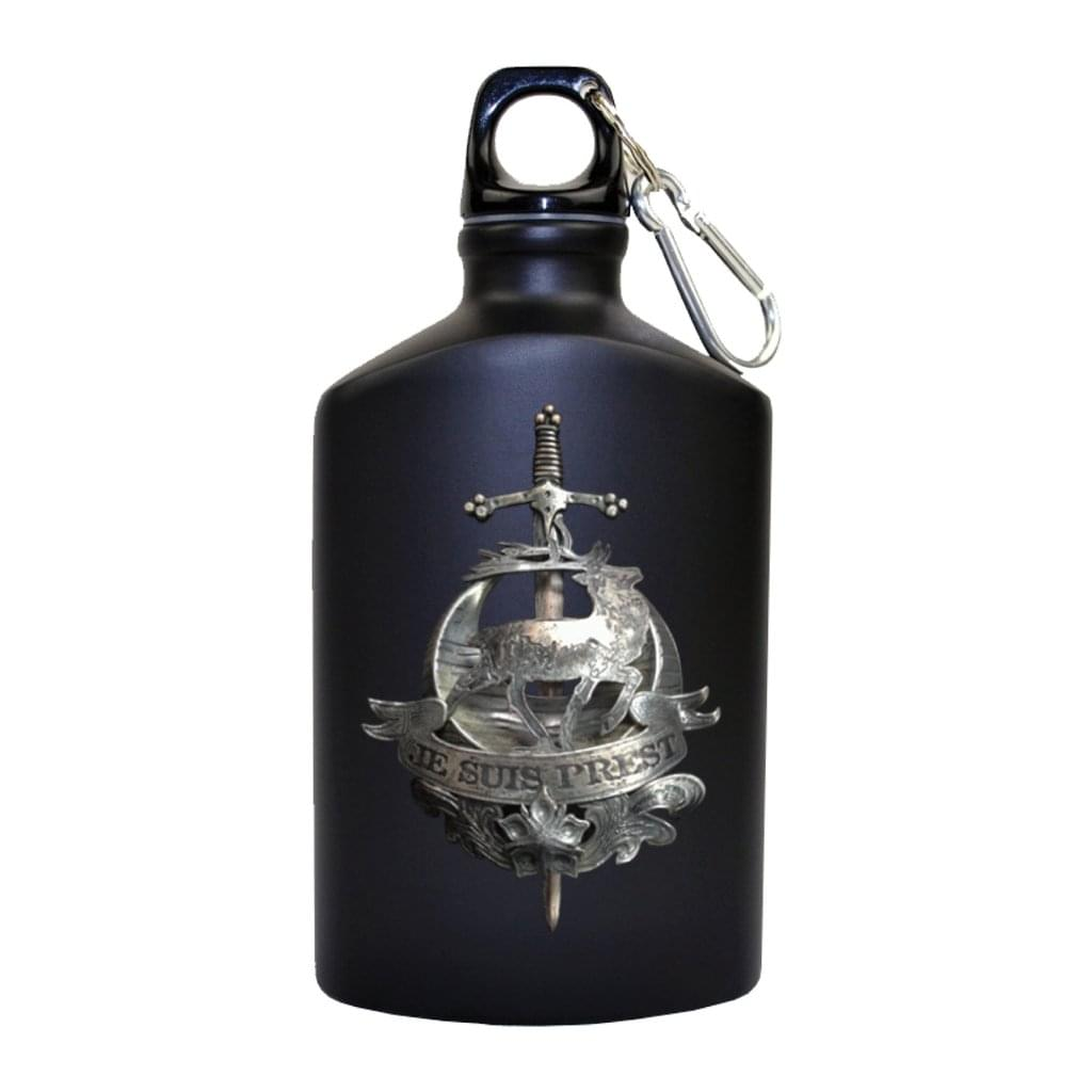 Outlander Fraser Clan Motto Metal Drink Bottle/Flask