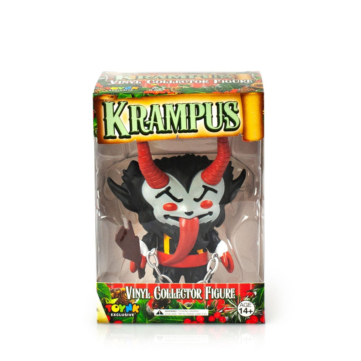 "Krampus 5"" Vinyl Figure, Coal Black Variation"