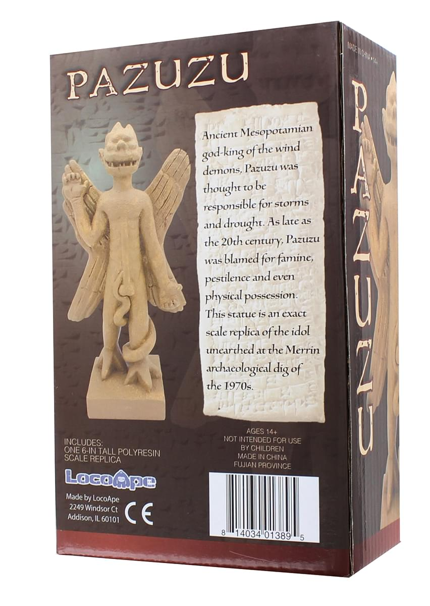 "Pazuzu Statue from The Exorcist Movie | 6"" Resin Replica Collectible Figure"