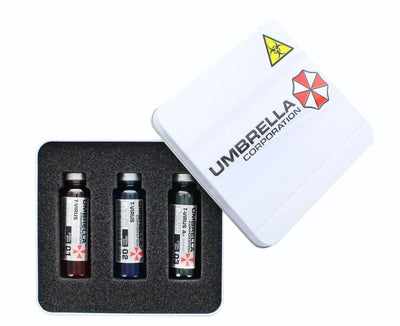 Resident Evil 3-Vial Vaccine Replica Set | Premium Quality Collectible Prop