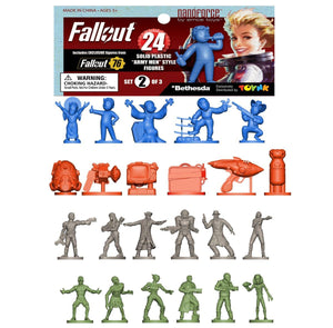 Fallout Nanoforce Series 1 Army Builder Figure Collection - Bagged Set 2