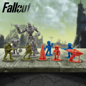 Fallout Nanoforce Series 1 Army Builder Figure Collection - Boxed Volume 2