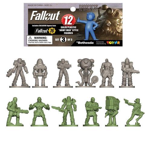 Fallout Nanoforce Series 1 Army Builder Figure Collection - Bagged Version 3