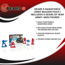 Load image into Gallery viewer, Gears 5 Nanoforce Army Builder Pack | Includes 6 Gears Of War Army-Men Figures