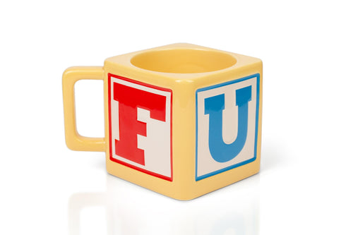 My First Cuss Word Block Mug - 12-Ounces