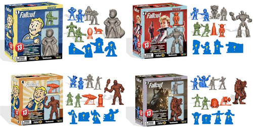 Fallout Nanoforce Series 1 Army Builder Figure Box Sets - Set of 4
