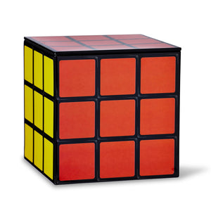 Puzzle Cube 4 x 4 Inch Tin Storage Box