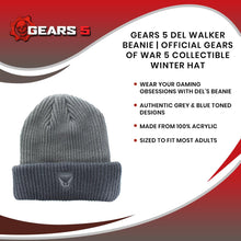 Load image into Gallery viewer, Gears 5 Del Walker Beanie | Official Gears Of War 5 Collectible Winter Hat
