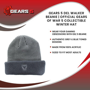 Gears 5 Del Walker Beanie | Official Gears Of War 5 Collectible Winter Hat