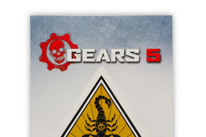 Gears of War 5 Team Scorpio Vinyl Decal | Gears 5 Collectible | 5 x 7 Inches