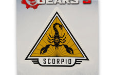 Load image into Gallery viewer, Gears of War 5 Team Scorpio Vinyl Decal | Gears 5 Collectible | 5 x 7 Inches