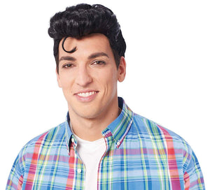 Doo Wop Men's Costume Wig - Black