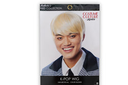 K-Pop Korean Boy Band BTS Adult Costume Wig | Blonde