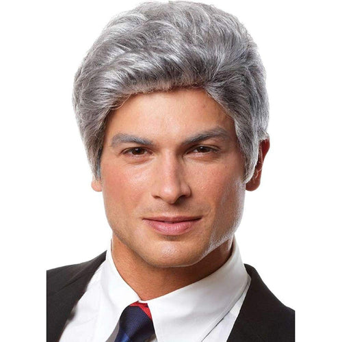 Mr. President Men's Costume Wig - Grey