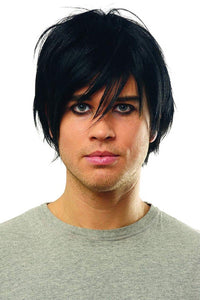 Emo Men's Costume Wig - Black