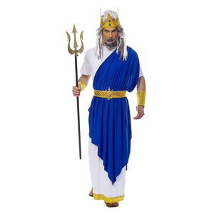 Neptune (Poseidon) Men's Costume