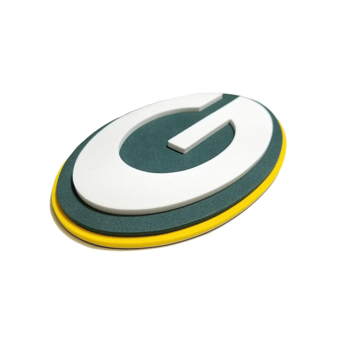 Green Bay Packers NFL 10 Inch FanChain 3D Foam Magnet