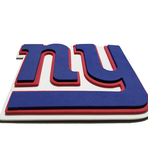New York Giants NFL 10 Inch FanChain 3D Foam Magnet