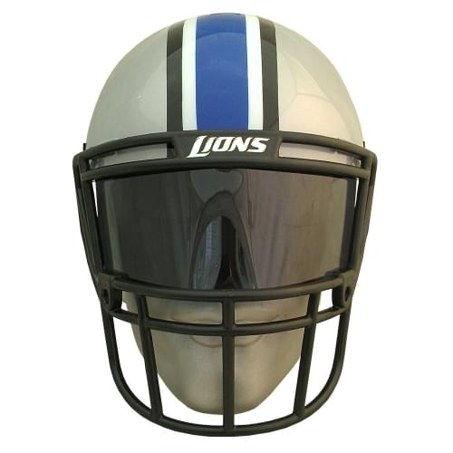 NFL Detroit Lions Gear Helmet Style Fan Mask